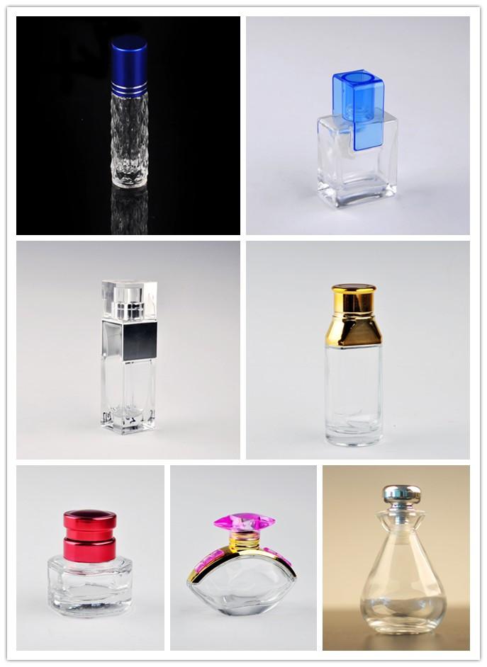Unique design elegant empty perfume bottle