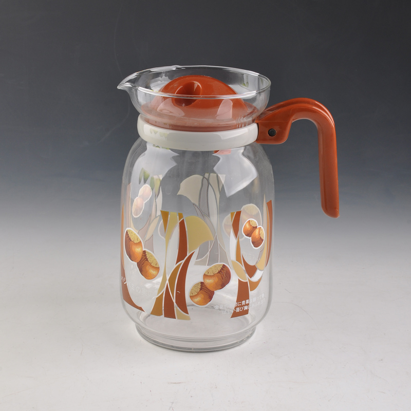 Glass Water Jug With Lid Glass Water Jug With Lid