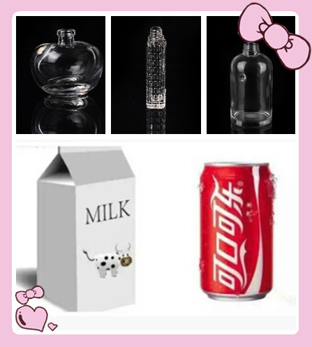 Why sell milk in a square box, coke is in a circle to sell in the bottle?