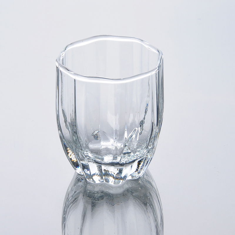 Drinking Glass Tumbler Fancy Square Fancy Square Glass