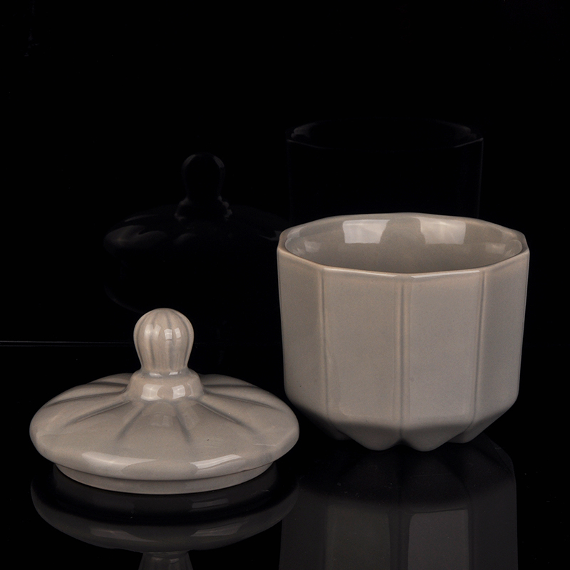 Ceramic Candle Holder With Lid Wholesale,new design ...