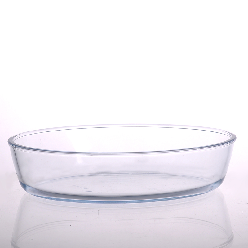 Food container glass bowl with lid