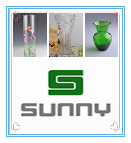 Special flower bottles from Sunny Glassware