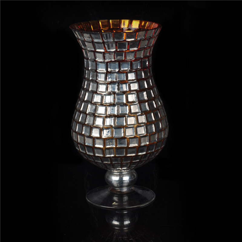 hot wholesale handmade glass tall candle holders for weddings print glass candle holder. Black Bedroom Furniture Sets. Home Design Ideas