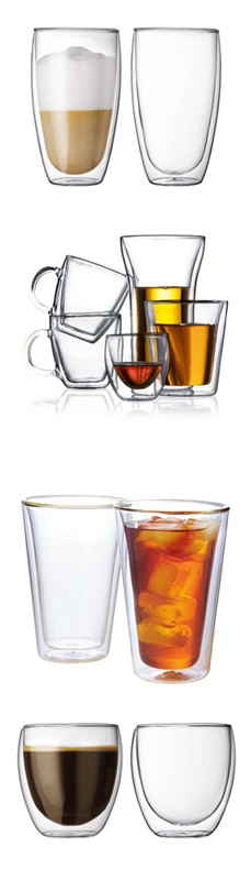 Borosilicate Double Wall Glass