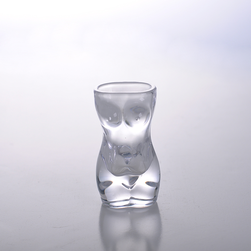 30ml crystal nude lady drinking cup shot glass