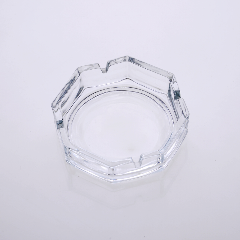 Hight white Round Smoke Glass Ashtray Wholesale Supplier
