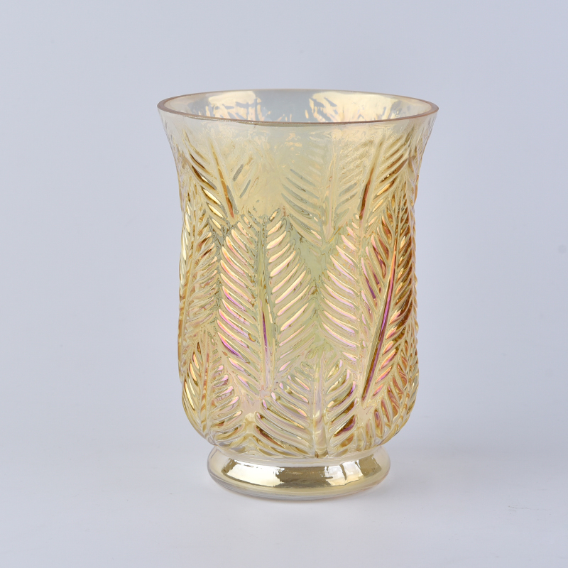Luxury Decorative Embossed Candle Holders Wholesale