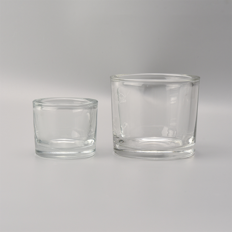 Thick Wall Glass Votive Candle Holder