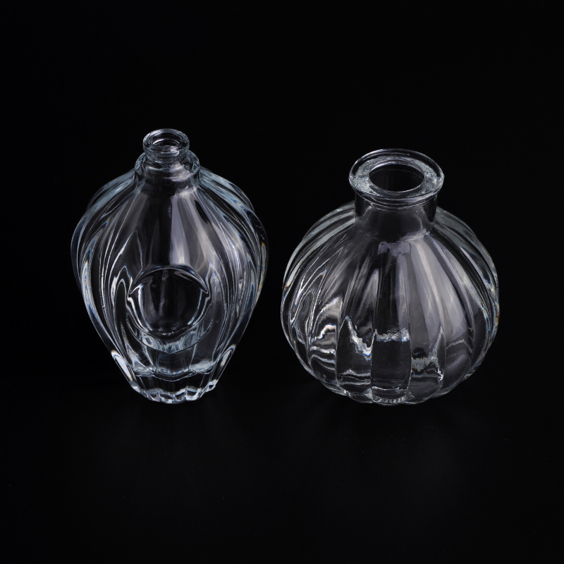 Most popular clear glass perfume bottle