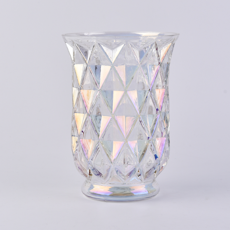 gorgeous glass candle holder