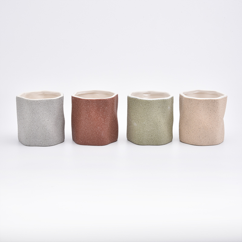 Empty Ceramic Candle Jars For Candle Making
