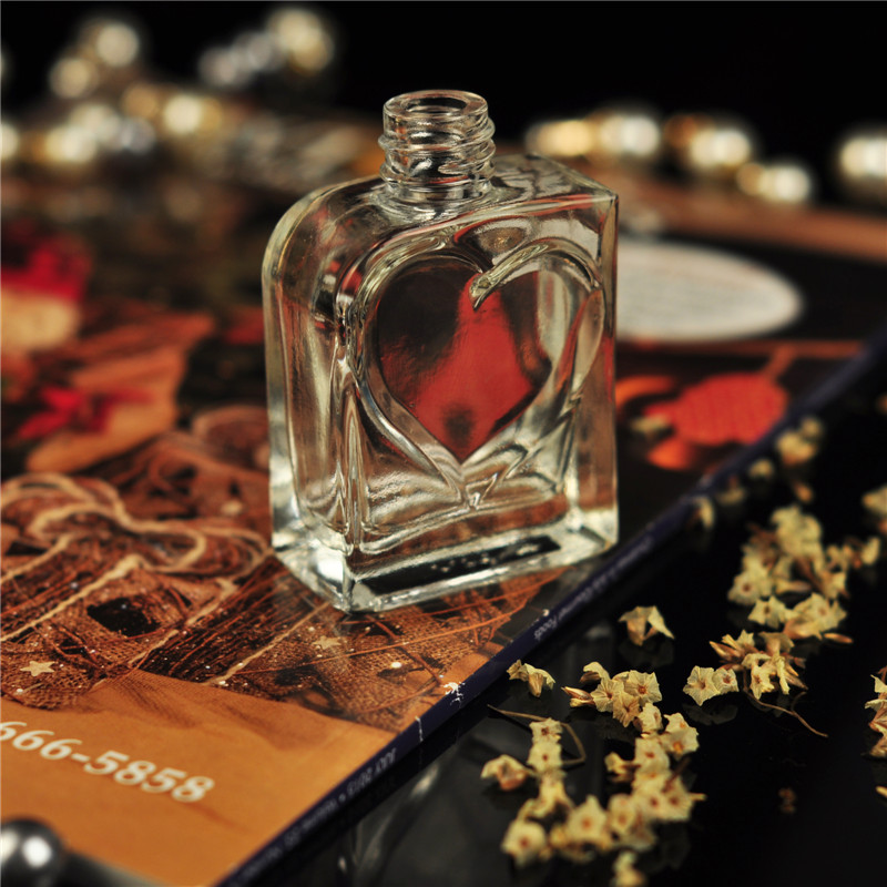 Simple design glass bottle arabic perfumes