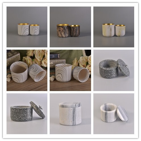 New arrival beautiful decorative ceramic candle holders