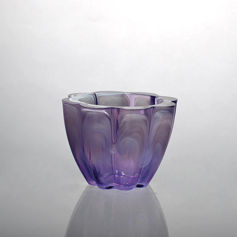 Unique Candle Holders: Unique Design Decorative Wholesale Glass Candle Holder