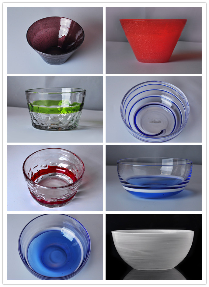 So beautiful these glass desserts bowls are!
