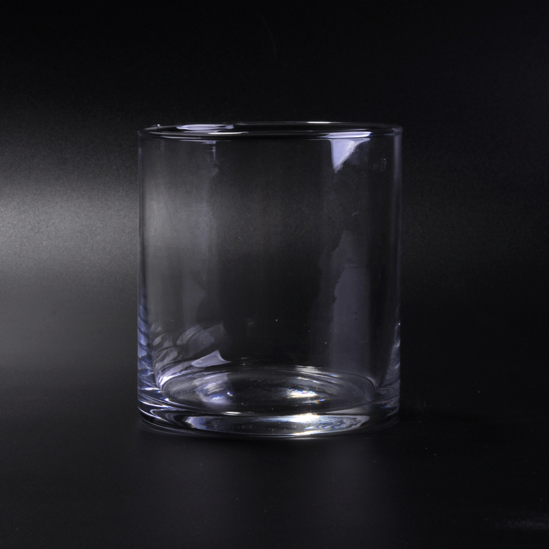 Machine blown clear crystal drinking glasses