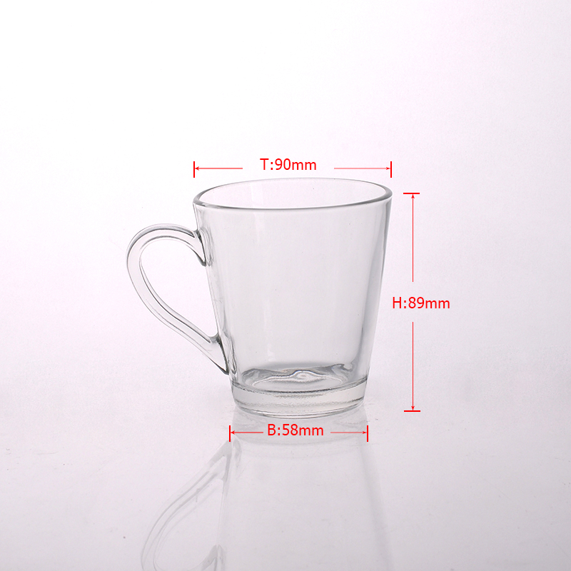 glass tea cup from Sunny Glassware
