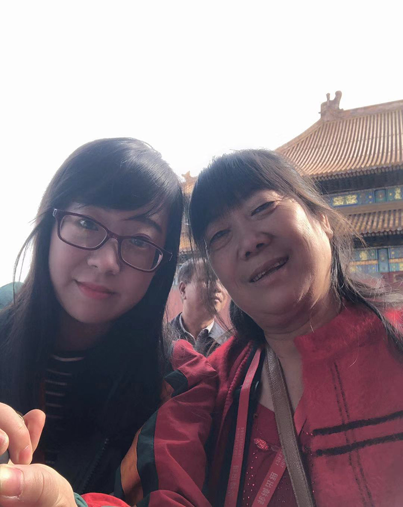 The Tour to Beijing with My Mom