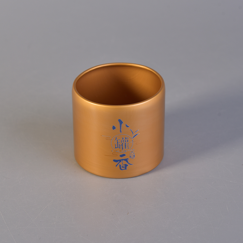 Wholesale coffee box gold tea containers