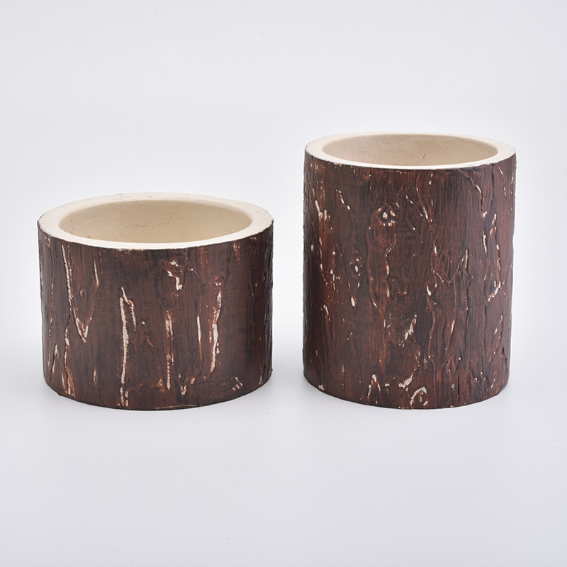 tree patern candle holders