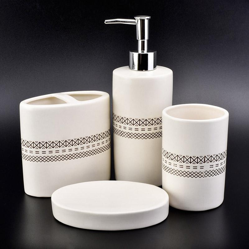 Luxury Ceramic Bathroom Accessories Sets On Okcandle.com