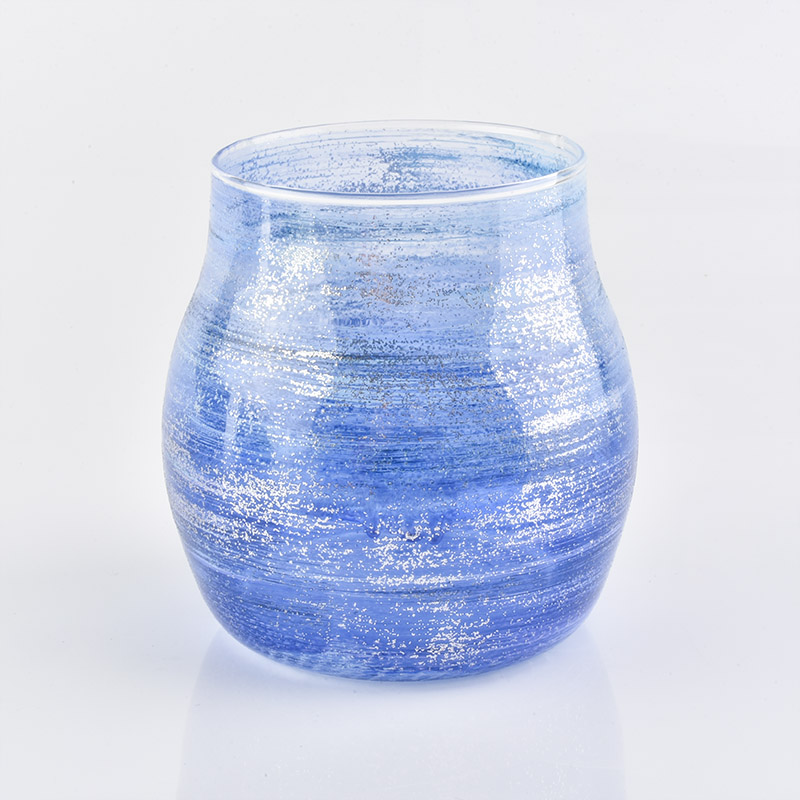 New high quality customized glass candle holder