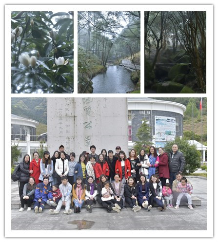 Sunny Group spring trip for 3 days at FuJian