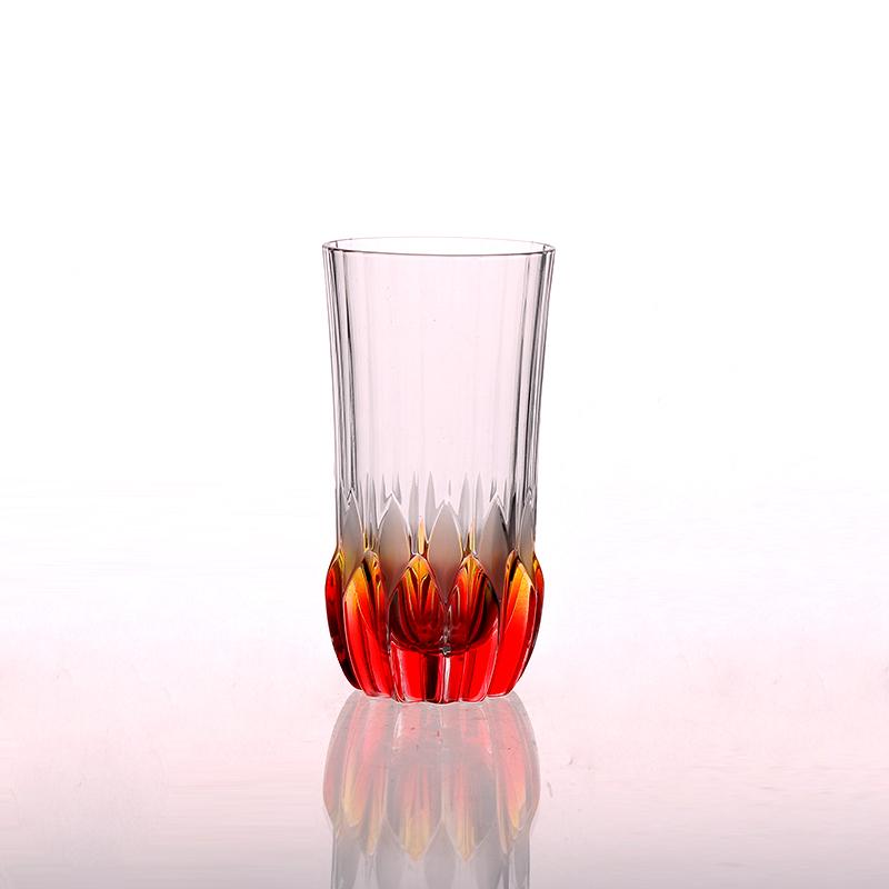 Round Bottom Spray Color Drinking Tumbler Shot Glass