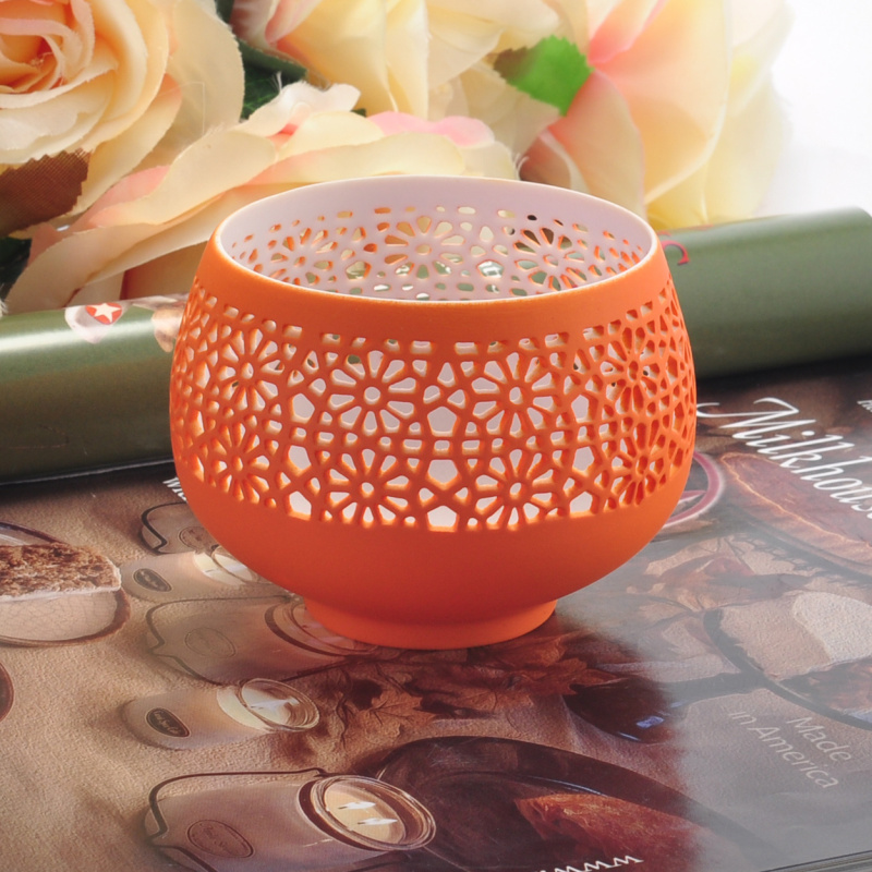 New ceramic tealight candle jars candle holders