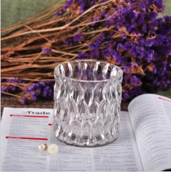 Classic Home Decor Glass Tealight Candle Jar