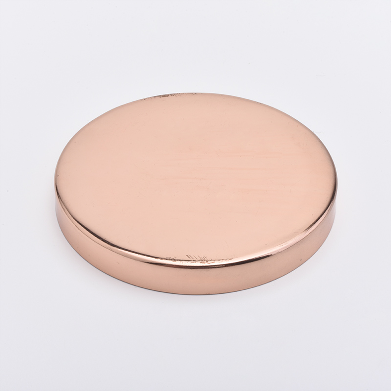 stainless steel metal lid for candle jars wholesaler
