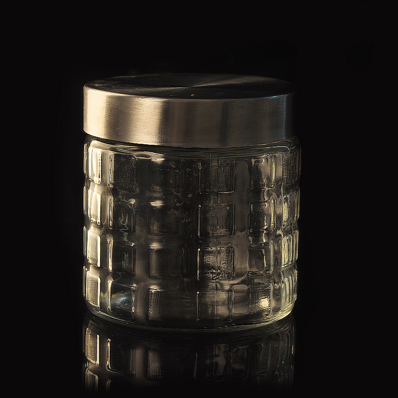 wholesale food storage glass jar