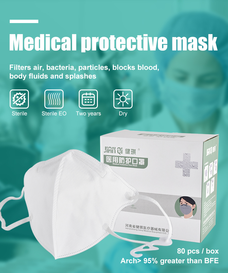 N95 Medical Protective Face Mask Particulate Respirator CE Certificate