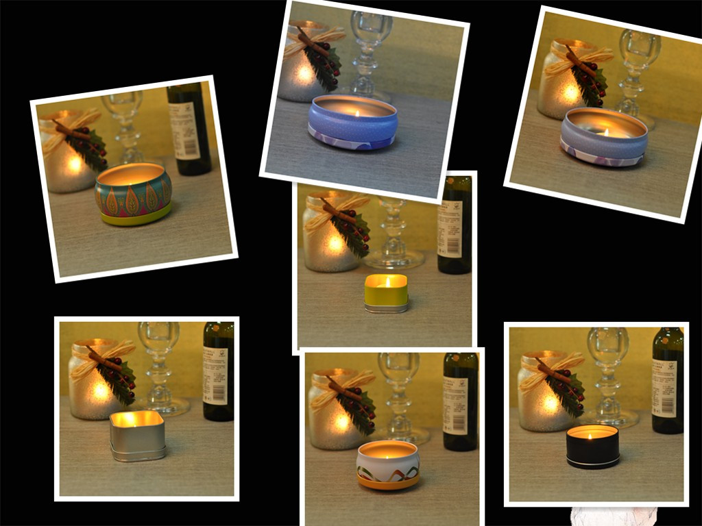 Beautiful tealight candle holder for tableware
