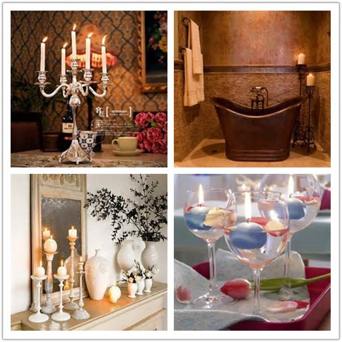Home Decoration --candle holder,candle container,candlestick from Sunny Glassware