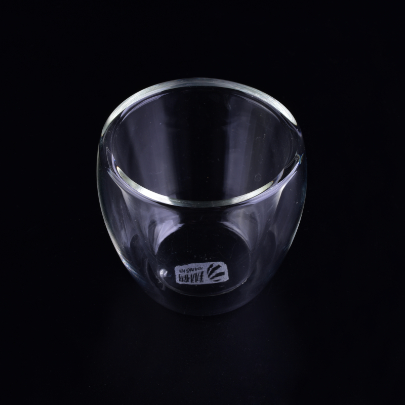 doublw wall glass cup