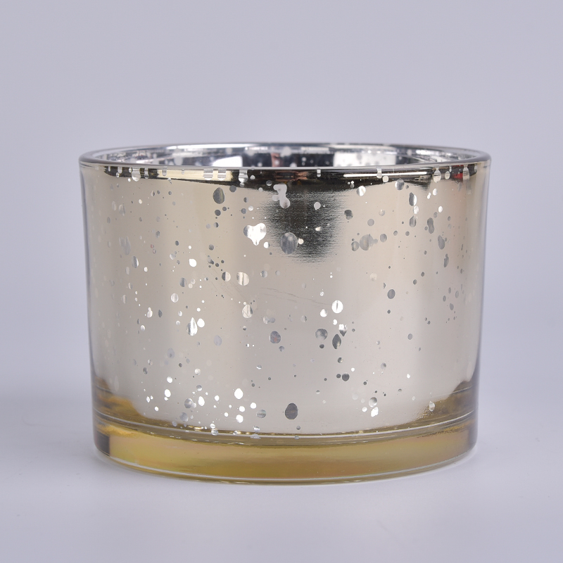 Popular 12oz glass candle jars with lids