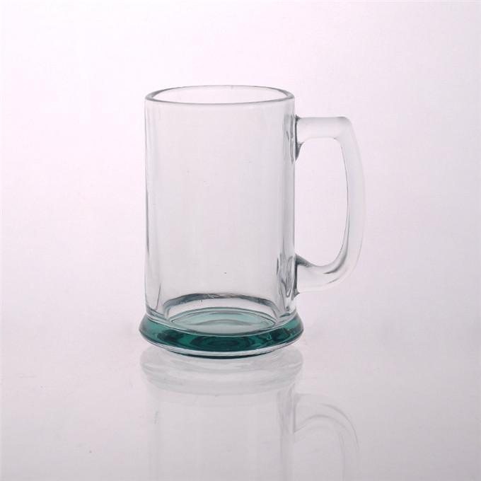 promotion clear glass beer mug with handle glass mug. Black Bedroom Furniture Sets. Home Design Ideas