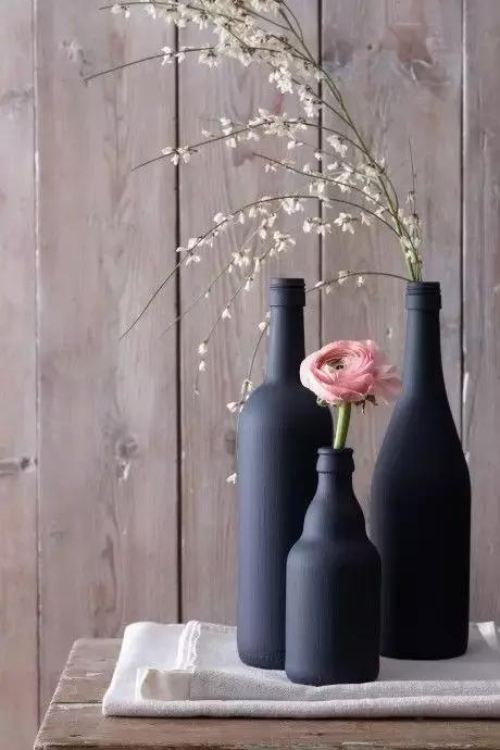 The use of empty bottles
