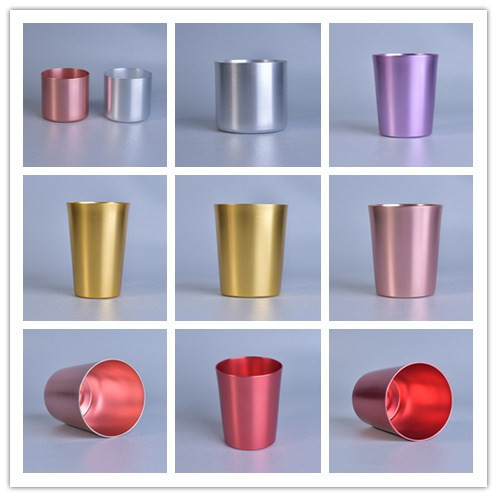 Wholesale Aluminum Metal Candle Holders