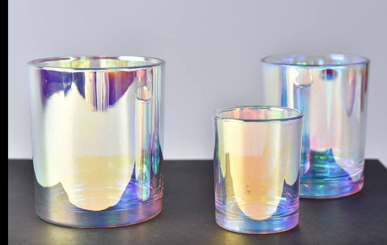 hologram candle jars