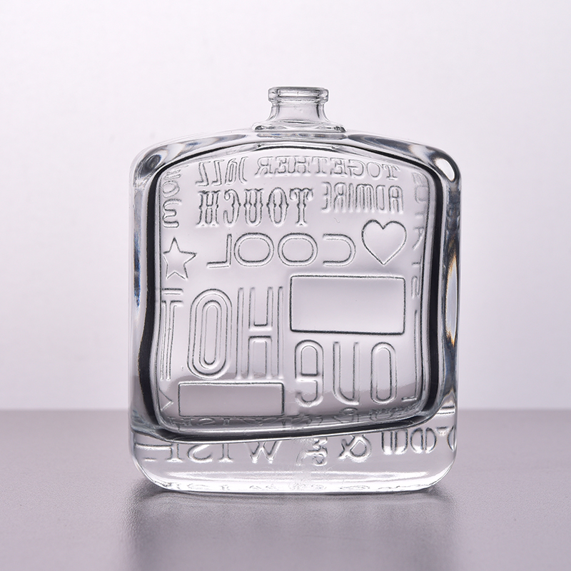 square glass perfume bottles