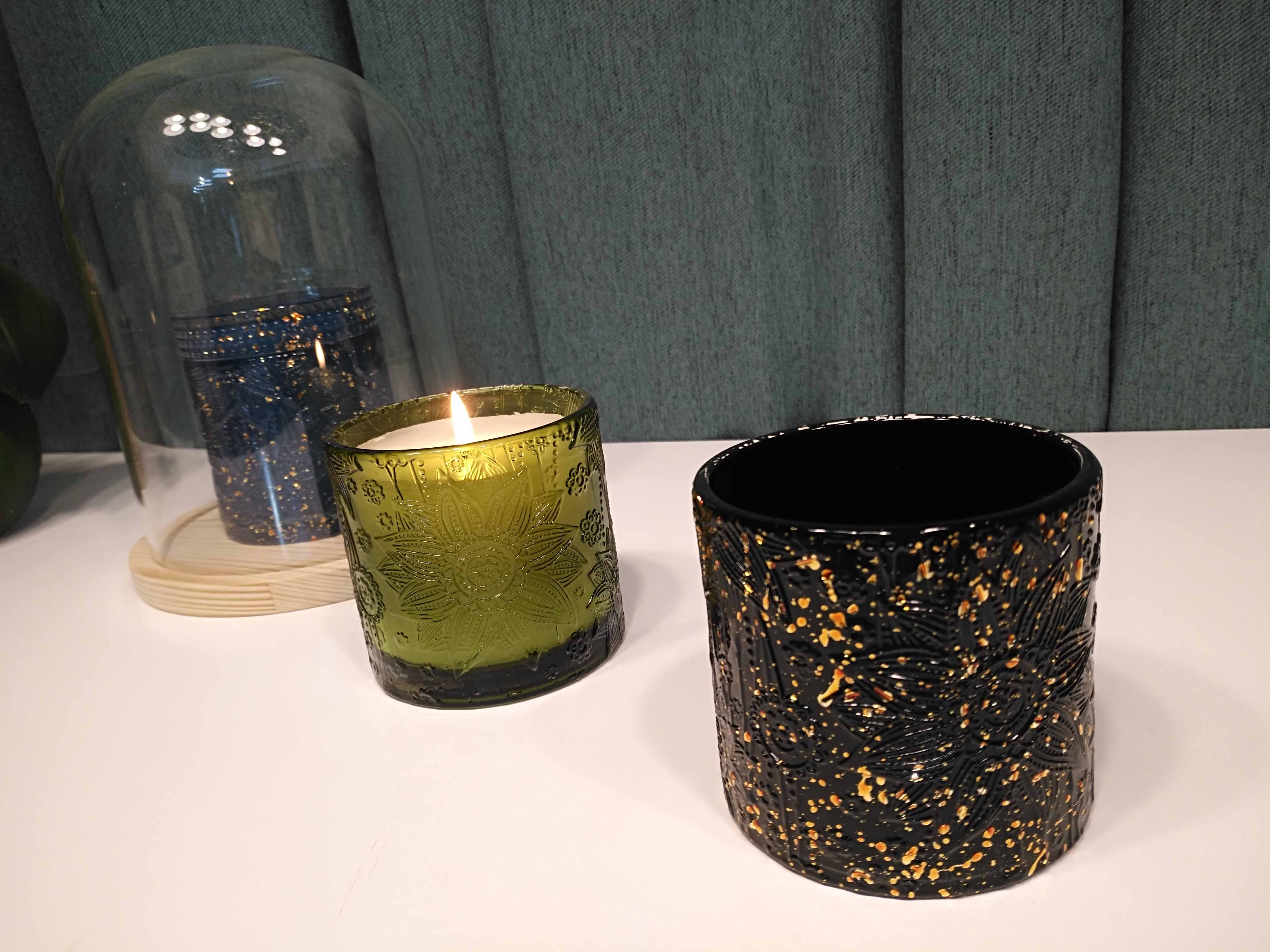 Scented Candles with Luxury candle jar from Sunny Glassware