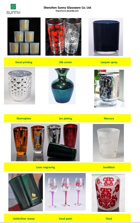 Different Processing Ways of Glass Product From Sunny Glassware