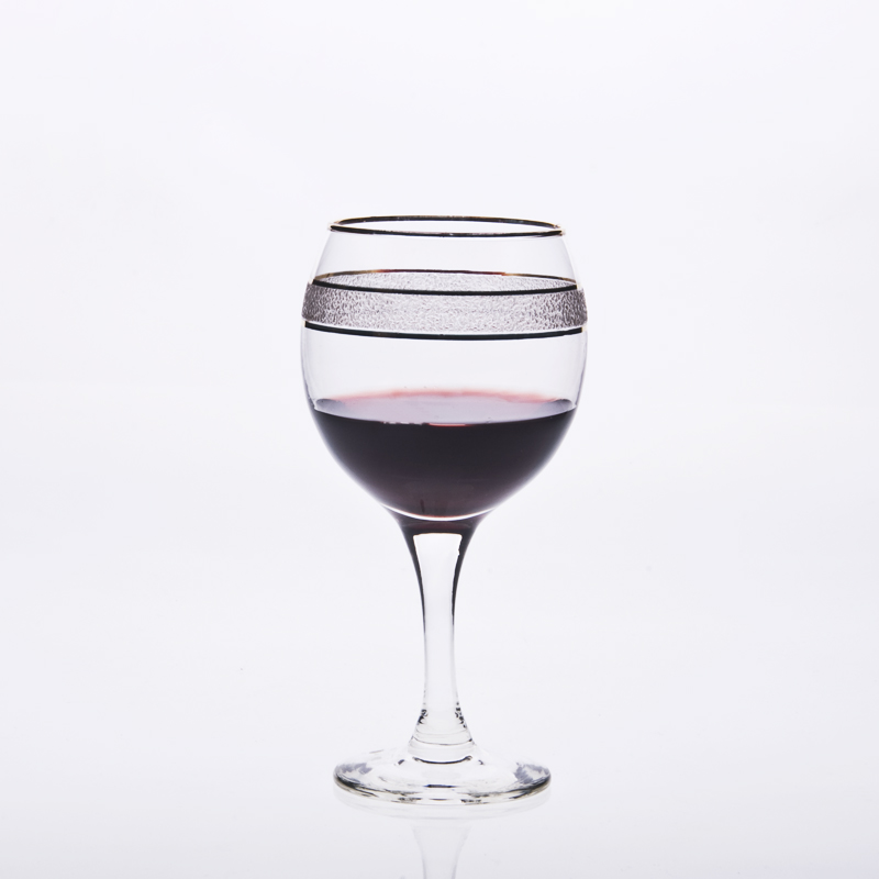 Drinking glass decorations custom wine goblets