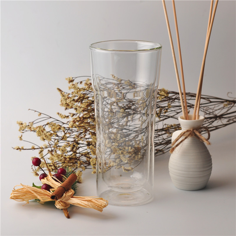 Gentle hint for borosilicate double wall glass