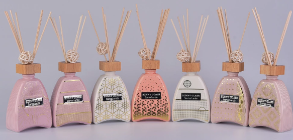 Luxury ceramic diffuser bottles