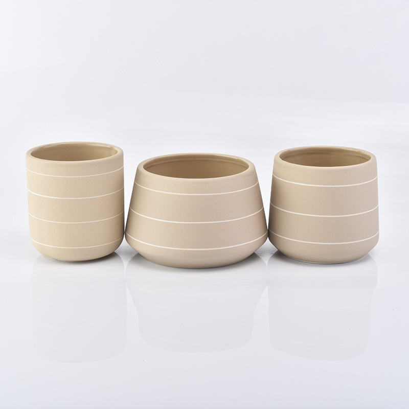 New Arrival Ceramic Candle Holders