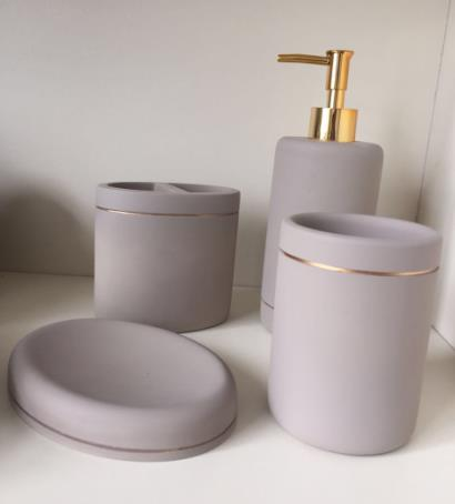 Concrete Bathroom Sets & Accessories